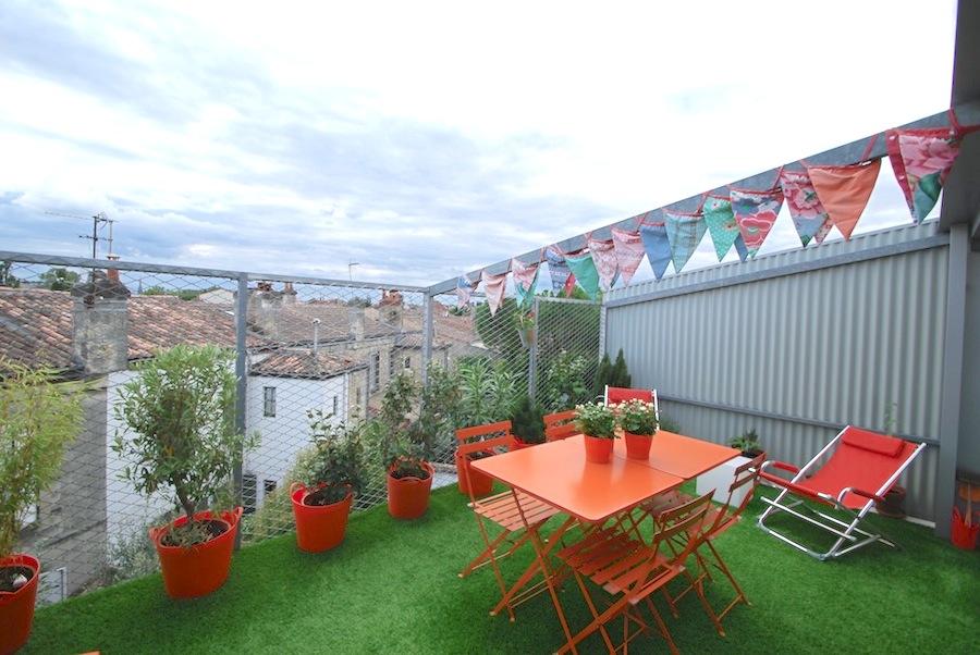Vente bordeaux bastide contemporaine radieuse et modulable terrasses et garage - Terrasse et jardin bordeaux roubaix ...